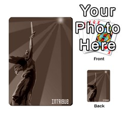 Kremlinintrigue02 By Mojo   Multi Purpose Cards (rectangle)   C930rp11rygr   Www Artscow Com Back 30