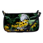Angel Among Flowers - Shoulder Clutch Bag