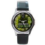 Zombie walk 2011 - Round Metal Watch