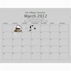 Kathy s 2012 Calender By Linda Ward   Wall Calendar 11  X 8 5  (12 Months)   Esykw6r8te9d   Www Artscow Com Mar 2012