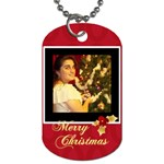 xmas - Dog Tag (One Side)
