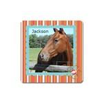 horses - Magnet (Square)