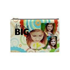 Dream Big By Lana Laflen   Cosmetic Bag (medium)   Bmwd18h8r6gj   Www Artscow Com Front