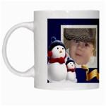Snowman Mug - White Mug