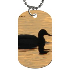 Lone Duck Twin-sided Dog Tag