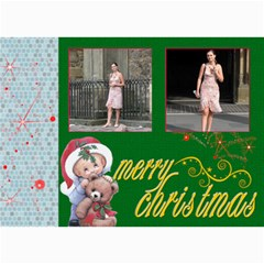 Christmas 2011 5x7 Photo Cards (x10) #2 By Picklestar Scraps   5  X 7  Photo Cards   Xuj2pcqhkzah   Www Artscow Com 7 x5 Photo Card - 7