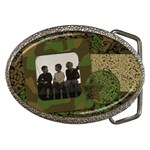 Cammo Belt Buckle