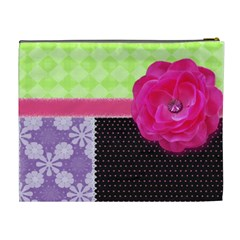Patchwork By Wonder Smith   Cosmetic Bag (xl)   Gytarykvz5ll   Www Artscow Com Back