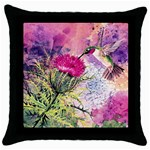 hummer squared zaz Throw Pillow Case (Black)