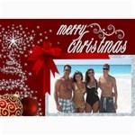 Christmas 2011 5x7 Photo Cards (x10)  - 5  x 7  Photo Cards