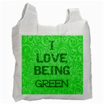 I Love Being Green - Recycle Bag (Two Side)