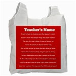 Childcare is a Labour of Love - Recycle Bag (Two Side)