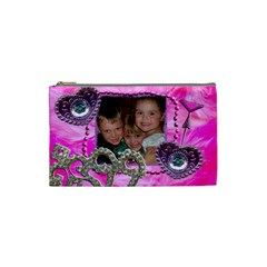 Girls Bag By Sara Irvine   Cosmetic Bag (small)   Gxuuu15n9wym   Www Artscow Com Front