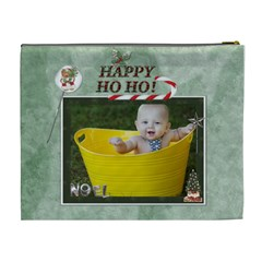 Santas Little Helper Xl Cosmetic Bag By Lil    Cosmetic Bag (xl)   Kp4iwg9x81t7   Www Artscow Com Back
