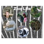 Fall Zoo Life Puzzle - Jigsaw Puzzle (Rectangular)
