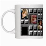 7th Frame Artistic Mug - White Mug
