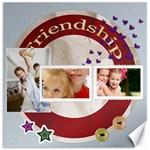friendship - Canvas 20  x 20