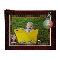Ho Ho Ho Noel Xl Cosmetic Bag By Lil    Cosmetic Bag (xl)   71odwy90o1a4   Www Artscow Com Front