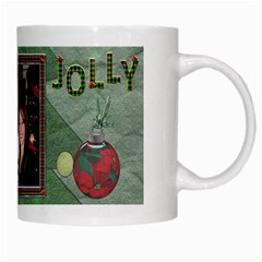Ho Ho Ho Jolly Mug By Lil    White Mug   0mowkkvyh9ws   Www Artscow Com Right