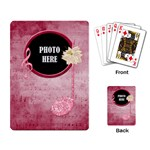 Holiday Melodies Playing Cards 2 - Playing Cards Single Design
