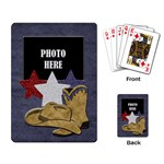 Lone Star Holidays Playing Cards 1 - Playing Cards Single Design