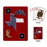 Lone Star Holiday Playing Cards 4 - Playing Cards Single Design