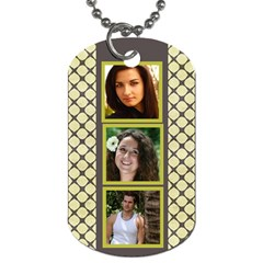 6 Frame Dog Tag (2 Sided) By Deborah   Dog Tag (two Sides)   X7cligyx8r11   Www Artscow Com Front