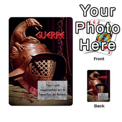 Cartes Jeux Divers By Ndeclochez   Multi Purpose Cards (rectangle)   O0pivvb66mmx   Www Artscow Com Front 6