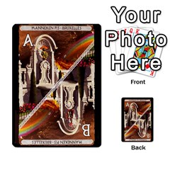 Cartes Jeux Divers By Ndeclochez   Multi Purpose Cards (rectangle)   O0pivvb66mmx   Www Artscow Com Front 34