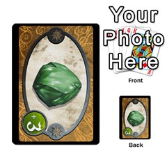 Cartes Jeux Divers By Ndeclochez   Multi Purpose Cards (rectangle)   O0pivvb66mmx   Www Artscow Com Front 46
