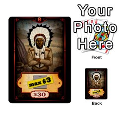Cartes Jeux Divers By Ndeclochez   Multi Purpose Cards (rectangle)   O0pivvb66mmx   Www Artscow Com Front 47
