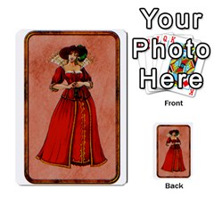 Cartes Jeux Divers By Ndeclochez   Multi Purpose Cards (rectangle)   O0pivvb66mmx   Www Artscow Com Back 48