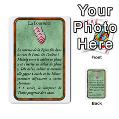 Cartes Jeux Divers By Ndeclochez   Multi Purpose Cards (rectangle)   O0pivvb66mmx   Www Artscow Com Front 50