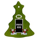 Five Little Snowmen Tree Ornament 1 - Ornament (Christmas Tree)