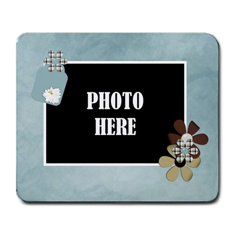 Crossing Winter Mouse Pad 1 By Lisa Minor   Large Mousepad   Nyyfqv88bl2l   Www Artscow Com Front
