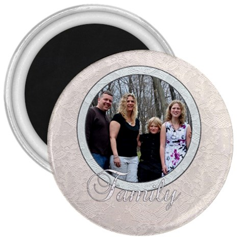 Family Magnet By Patricia W   3  Magnet   Yalusvumu36m   Www Artscow Com Front