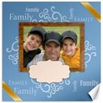 Family - Canvas 20  x 20