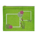 green cosmetic bag (XL)