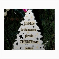 Jesus Is The Reason Twin Sided Glasses Cleaning Cloth by tammystotesandtreasures