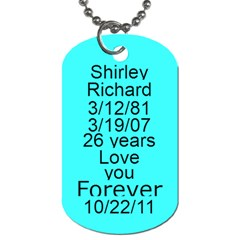 Me And My Husband By Shirley   Dog Tag (two Sides)   Q2dcw40oot2q   Www Artscow Com Back