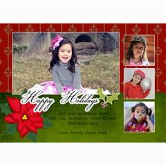5x7 Photo Cards: Happy Holidays2 By Jennyl   5  X 7  Photo Cards   Ljq64ivzx1r5   Www Artscow Com 7 x5 Photo Card - 8