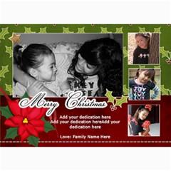 5x7 Photo Cards: Merry Christmas By Jennyl   5  X 7  Photo Cards   Xx6u1o54210x   Www Artscow Com 7 x5 Photo Card - 4