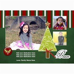 5x7 Photo Cards: Christmas Greetings By Jennyl   5  X 7  Photo Cards   6o65823v6b6j   Www Artscow Com 7 x5 Photo Card - 3