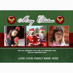 5x7 Photo Cards: Merry Christmas 2 By Jennyl   5  X 7  Photo Cards   P7fwrmf8n8q5   Www Artscow Com 7 x5 Photo Card - 6