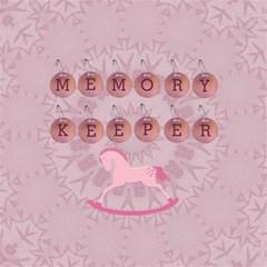 Baby Girl Memory Keeper 12  Storage Stool By Lil    Storage Stool 12    Mgmysl4j8rcm   Www Artscow Com Top