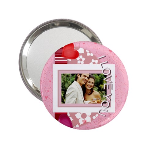 I Love You By Joely   2 25  Handbag Mirror   1y3a3lnmp7ml   Www Artscow Com Front