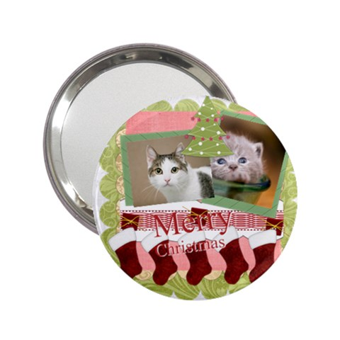 Merry Christmas By Joely   2 25  Handbag Mirror   Indchijfbukq   Www Artscow Com Front