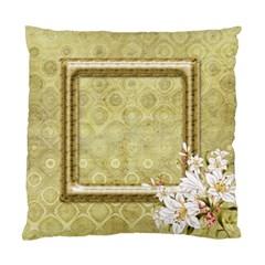 My Lily (2 Sided) Cushion By Deborah   Standard Cushion Case (two Sides)   2xx3cwqlb7ph   Www Artscow Com Back