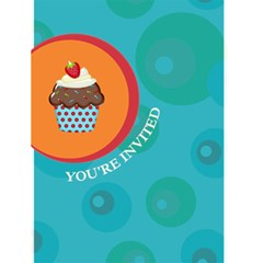 Cupcake Birthday Card (4x6) By Lana Laflen   Greeting Card 4 5  X 6    Oh7bnw9mlphi   Www Artscow Com Front Cover