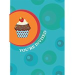 Cupcake Birthday Card (4x6) - Greeting Card 4.5  x 6